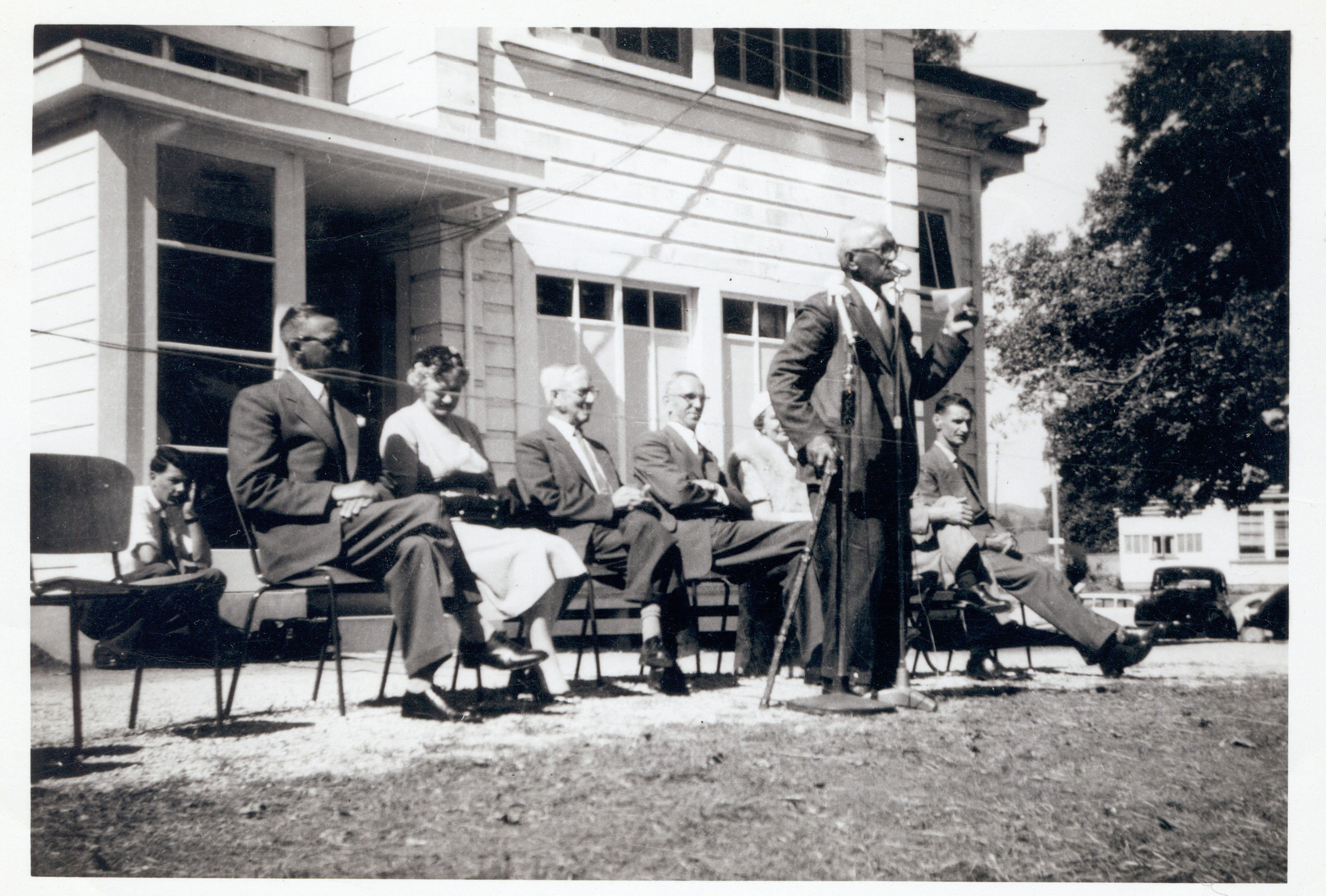 Dedication of the Māori Wing, 1958. 601-1-9