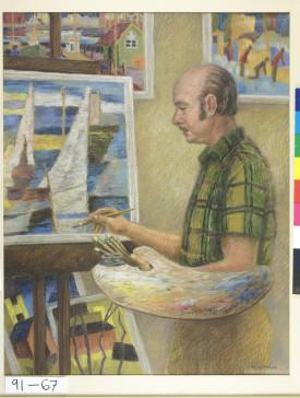 Norman Scott by Allan Barns-Graham, 91-67