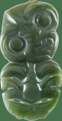 Hei Tiki, kawakawa pounamu, 1955/1260/2