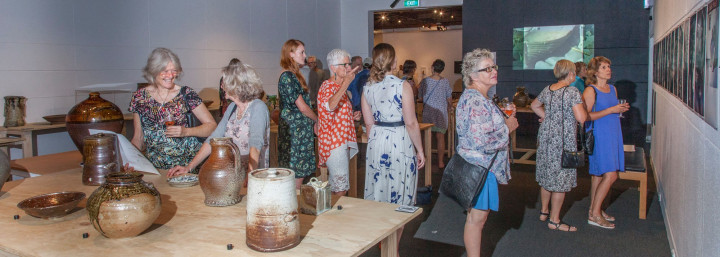 Company of Potters exhibition opening, February 2018