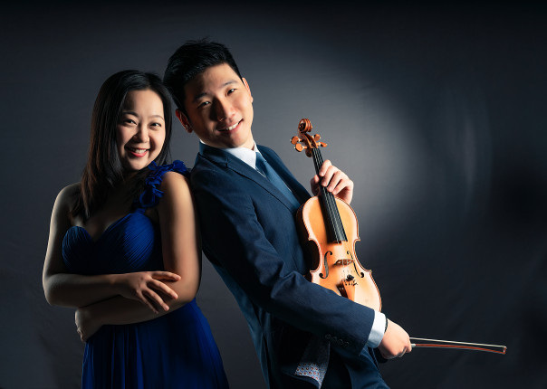 Winter concert series – Xing Wang (piano) and James Jin (violin)