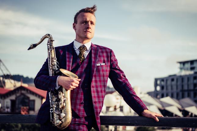 Jazz duo Oscar Lavën & Adrian Jensen