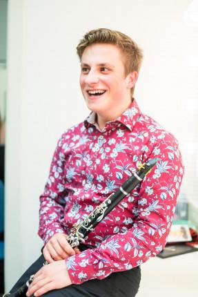 Sunday afternoon concert series – Ben Van Leuven (clarinet) & Otis Prescott Mason (piano)