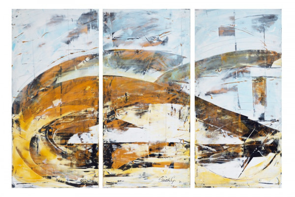 Remembered Hills VII, Sarah GordonAcrylic on boards. 2021